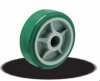 Polyurethane Empire Wheels on Polypropylene(Green) -- IX Series - Image