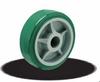 IX Series Polyurethane Empire Wheels on Polypropylene(Green)