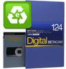 Evaluated Digital Betacam 124 Minutes Large Cassette