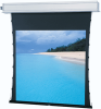 HDTV Format Tab Tensioned Ceiling Recessed Electric Projection Screen -- HDTV Format