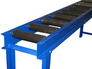 Super heavy duty roller conveyor from Hymark