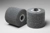 3M Scotch-Brite CF-MF Non-Woven Silicon Carbide Flap Wheel - Medium Grade - 4 in Face Width - 4 1/2 in Diameter - 55747 -- 051141-55747 - Image