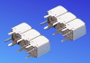 Helical Band Pass Filter -- TTW3817B-1725M