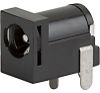 PCB terminals, Socket, 5.7 mm, 2-pole, DC Plug/Socket