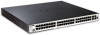 48-Port Managed Gigabit Stackable L2+ PoE Switch including 4 Combo SFP ports -- DGS-3120-48PC