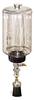 "(Formerly B1745-7X02), Manual Chain Lubricator, 1/2 gal Polycarbonate Reservoir, 1 1/2"" Round Brush Nylon -- B1745-064B1NR4W -- View Larger Image"