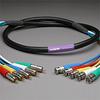 PROFlex Video Cable 5Ch 3CFB BNCP-RCAP 10' -- 305VS3CFB-BR-010