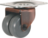 "2"" Twin Wheel Swivel Caster -- 8067860"