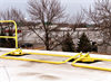 Collapsible Portable Guard Rail -- Stealth Rail - Image