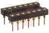 Socket, DIP;14Pins;800 Series Machined Contact;Open;0.3In.;Beryllium Copper -- 70207058 - Image
