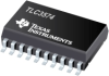 TLC3574 Serial Out, Low Power with Built-In Conversion Clock & 8x FIFO, 4 Channels -- TLC3574IDWR