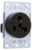 Straight Blade Power Receptacle -- 3802