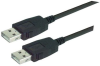 LSZH USB Cable Assembly, Latching A / Latching A 0.75m -- MUS2A00017-075M -Image