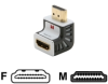 Monster Advanced for HDMI 1080p 90 Degree Adapter VA HDMI.. -- 140321-00