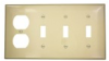 Combination Wallplates -- 80743-I - Image