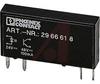 Optocoupler; Industrial; Rectangular; Transistor; Pluggable -- 70208170