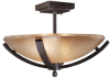 1184-357 2 Light Semi Flush -- 1184-357 - Image