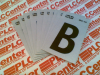 HYKO RV-15/B ( REFLECTIVE ADHESIVE LETTER B 1INCH 10/PACK ) -Image