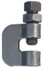 C Clamp w/Locknut,Rod Sz 1/2 In -- 4HYH2