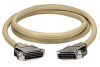 RS-232 Extended-Distance/Quiet Cable with Die-Cast Removable EMI/RFI Hood, DB25, 16-Conductor (8 Pairs), Male/Male, 25-ft. (7.6-m) -- EBN16C-0025-MM