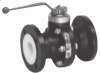 PTFE-lined Ball Valve -- Pfeiffer Type BR 20a