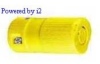 Locking Connector Yellow 20A 250V 2P -- 78358523565-1