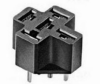 General Purpose Relay Socket, 5 Pin PCB Mount -- 78082398928-1
