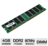 Crucial 4GB PC5300 DDR2 667MHz Desktop Memory Upgrade -- CT51264AA667