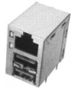 TE Connectivity 6116151-1 PCB Mounted Jacks - Single Port, Multi-port and Stacked -- 6116151-1