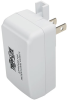 Hospital-Grade USB Wall Charger, UL 60601-1 Certified for Patient-Care Areas, Locking Tab, 1 Port, 2.5A 13W 110/220V -- U280-001-W2-HG