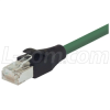 Shielded Cat 6 Cable, RJ45 / RJ45 PVC Jacket, Green 7.0 ft -- TRD695SCR-GR-7