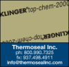Thermoseal PTFE Products -- KLINGER®top-chem-2000