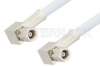 SMC Plug Right Angle to SMC Plug Right Angle Cable 36 Inch Length Using RG188 Coax -- PE3597-36 -- View Larger Image