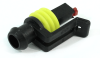 TE Connectivity AMP Superseal 1.5mm 1 Position Plug Housing, 282079-2 -- 38279 -- View Larger Image
