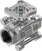 Ball valve -- VZBE-1-T-63-T-2-F0405-V15V15 -Image