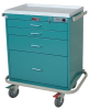 Classic Short Four Drawer Workstation with Mechanical C.. -- 7350