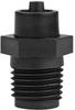 Fisnar 5801449 Polypropylene Cartridge Tip Adapter Black