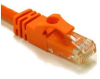 Cables To Go 7-Foot Cat6 Crossover Patch Cable - Orange -- 46038