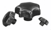 Cast Iron Star Grip Knobs -- 06200-106 - Image
