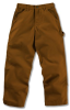Kid's Washed Duck Dungaree Pant -- CAR-CK8301