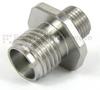 SMA Female (Jack) to SMP Male (Plug) Full Detent Bulkhead Adapter, 1.3 VSWR -- SM8818 - Image