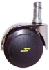 ESD Self-Braking Swivel Caster, 1-1/4