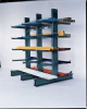 Starter Cantilever Rack,1 Side,10 ft. H -- MS-10J