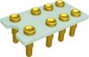 Relay Sockets, Solder Dip/8 Pin -- G6J2PY-8P-AL33 - Image