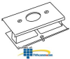 Legrand - Wiremold 3000® Series Single Receptacle Cover -- G3027AE