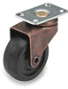 Swivel Plate Caster,Rating 75 lb. -- 2G007