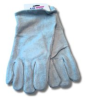 US Forge 99402 Welding Gloves Leather, Gray