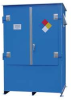 IBC Tote Locker,100 x 99 x 70 In,Blue -- 8NJT8