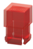 T-1 3/4 Lens Cap-Red -- 8680 - Image