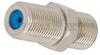 Precision F Female (Jack) to F Female (Jack) Adapter, Nickel Plated Brass Body, 1.28 VSWR -- FMAD1065